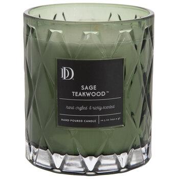 Sage Teakwood Jar Candle
