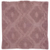 Blush Tufted Trellis Pillow Cover