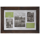 Distressed Pegged Collage Wood Wall Frame