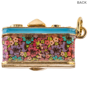 Floral Camera Charm