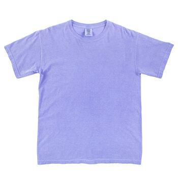 Fluorescent Blue Comfort Colors Heavyweight T-Shirt - Extra Large
