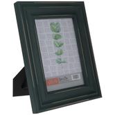 "Teal Distressed Wood Frame - 5"" x 7"""