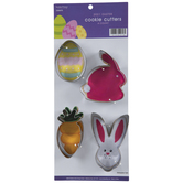 Bunny, Egg, & Carrot Cookie Cutters