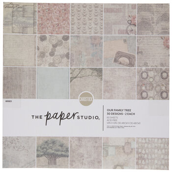 """Our Family Tree Paper Pack - 12"""" x 12"""""""