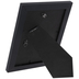 Black Wood Wall Frame With Mat - 5