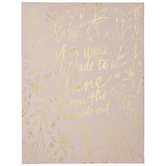 Shine From The Inside Out Canvas Wall Decor