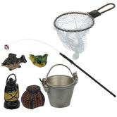 Miniature Fishing Accessories