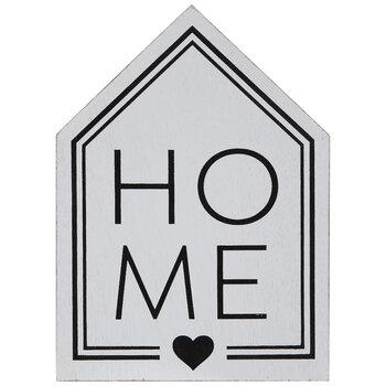 Home Heart House Wood Decor