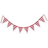 Striped Flag Banner