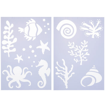 Sealife Stencil