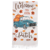 Welcome To Our Patch Kitchen Towel