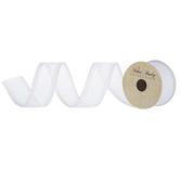 """Iridescent Glitter Wired Edge Sheer Ribbon - 1 1/2"""""""