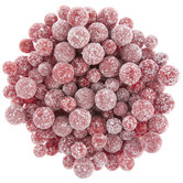 Frosted Red Ball Filler