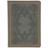 Gray Celtic Foil Sketchbook