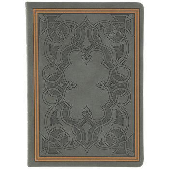 Gray Celtic Foil Sketchbook