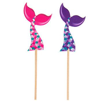 Mermaid Tail Cupcake Toppers