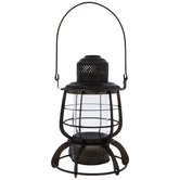 Retro Industrial Metal Lantern