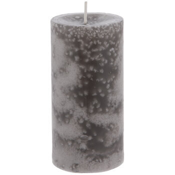 Silver Birch Pillar Candle