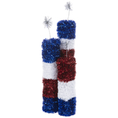 Firecracker Tinsel Centerpiece