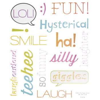 Funny Giggle Stickers