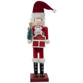 Santa Christmas Countdown Nutcracker