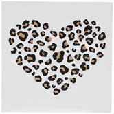 Leopard Heart Wood Decor