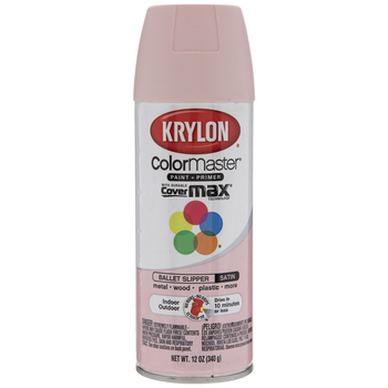 Krylon ColorMaster Satin Spray Paint & Primer