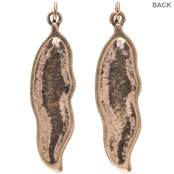 Feather Pendants With Stones
