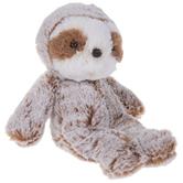 White & Brown Sloth Plush