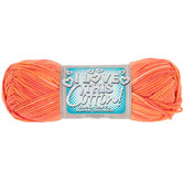 Tart Orange I Love This Cotton Yarn