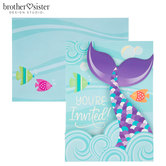 Mermaid Tail Invitations