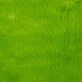 Green Faux Fur Fleece Fabric