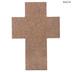 Whitewash Faith Wood Cross
