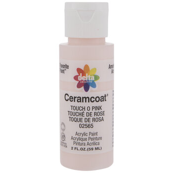 Touch O Pink Ceramcoat Acrylic Paint