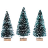 Frosted Green Sisal Trees - Large