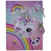 Cat Diary With Lock & Keys