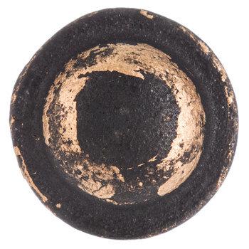 Dark Round Metal Knob