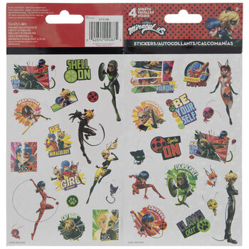 Miraculous Ladybug Holographic Stickers