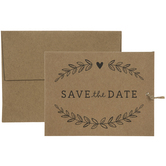 We're Tying The Knot Save The Date Cards