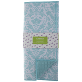 Blue Damask Drying Mat