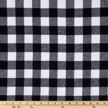 Buffalo Check Flannel Fabric