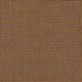 Black & Tan Mini Check Cotton Calico Fabric