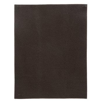 Chocolate Brown Leather Trim