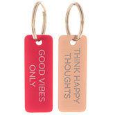 Happy Thoughts Keychains