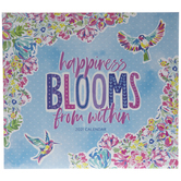 2021 Happiness Blooms From Within Calendar