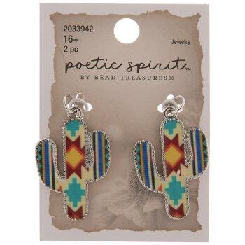 Southwestern Cactus Pendants