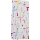 Watercolor Cross Tissue Paper