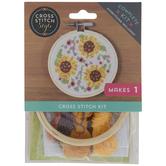 Sunflower Cross Stitch Kit