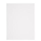 "White Heavyweight Cardstock Paper Pack - 8 1/2"" x 11"""
