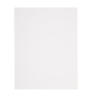 """White Heavyweight Cardstock Paper Pack - 8 1/2"""" x 11"""""""